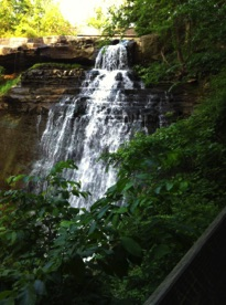 Bliss by the road Tip #3 Brandywine Falls, OH